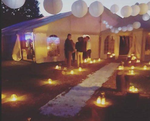 Prachtige bruiloft locatie